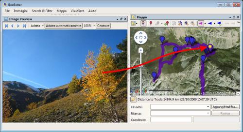 How to geotag photos   Easytrails