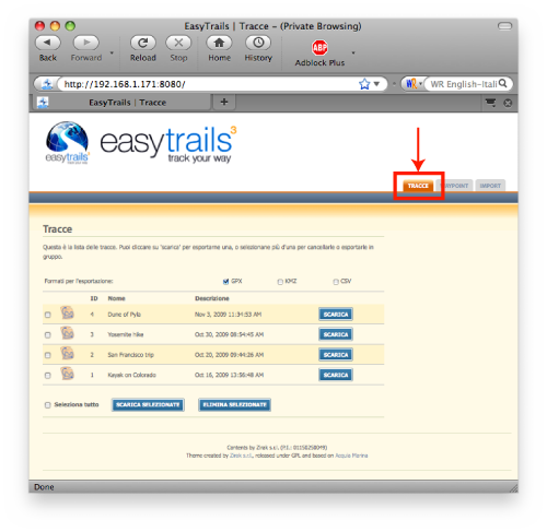 How to Export and Analyze Tracks | Easytrails