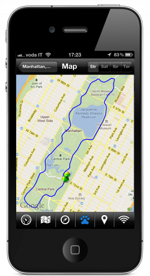 easytrails gps the perfect iphone android application for. Black Bedroom Furniture Sets. Home Design Ideas