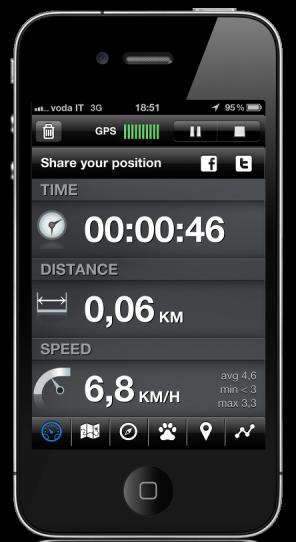 tracce gpx su iphone