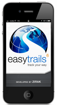 iPhone EasyTrails GPS